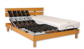 ensemble literie electrique plots et matelas memoire de forme hetre perfection athena par vj. Black Bedroom Furniture Sets. Home Design Ideas