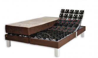 variosom design chocolat 90 x 200 par literie creation lits electriques. Black Bedroom Furniture Sets. Home Design Ideas