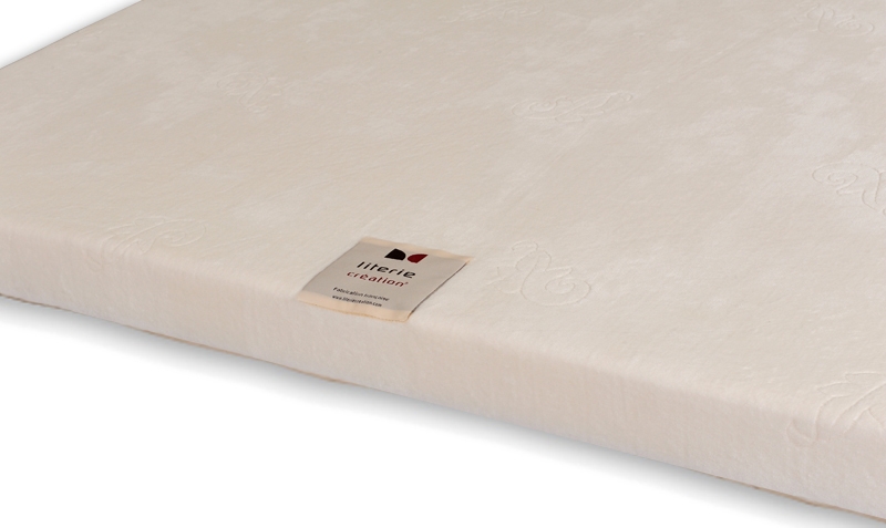 surmatelas memoire de forme athena 160x200 vj confect matelas. Black Bedroom Furniture Sets. Home Design Ideas
